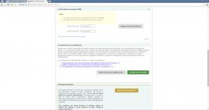 configuración de DNS en NIC Chile